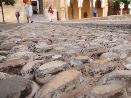 Worn Stones in the Courtyard
