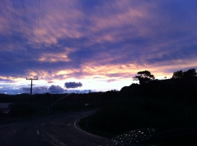 and more beautiful skies above Kawhia